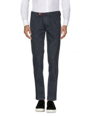Повседневные брюки BARONIO. Цвет: свинцово-серый