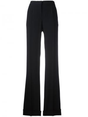 Расклешенные брюки Alberta Ferretti. Цвет: чёрный