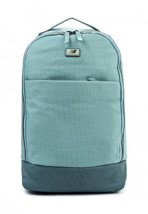 Рюкзак New Balance. Цвет: бирюзовый
