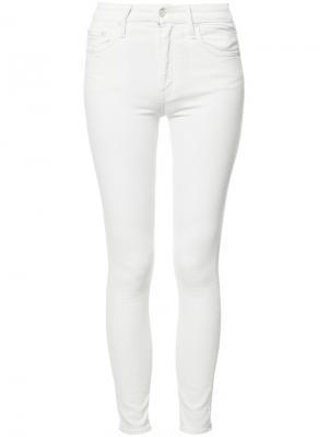 Insider cropped jeans Mother. Цвет: белый