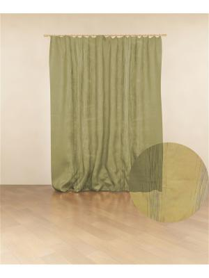 Тафта Зеленая Полоса МИЛИСА. Цвет: темно-зеленый