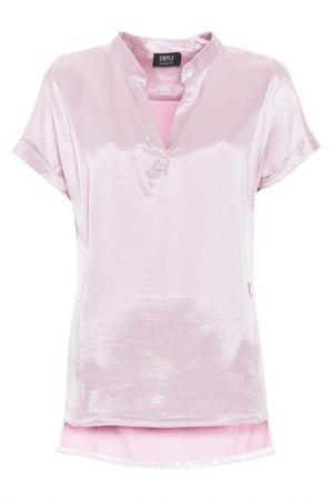 Блуза Simple. Цвет: розовый