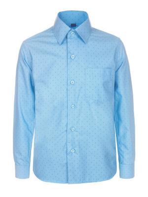 Рубашка Brostem. Цвет: синий