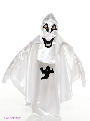Карнавальный костюм Привидение Батик. Цвет: белый