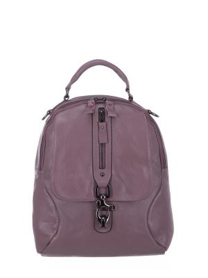 Рюкзак S16062 натуральная кожа Sara. Цвет: сиреневый