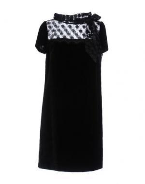 Короткое платье MARIA GRAZIA SEVERI. Цвет: черный