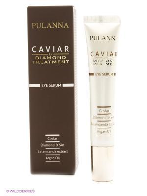 Восстанавливающая лифтинг-сыворотка для контура глаз -Treatment Eye Serum 20мл PULANNA. Цвет: белый