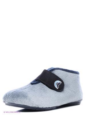 Испанские тапочки Mon Ami. Цвет: серый