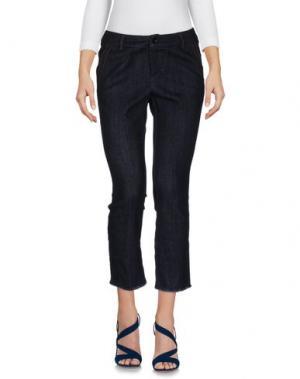 Джинсовые брюки NINETTE. Цвет: синий