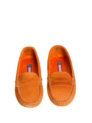 Мокасины U.S. Polo Assn.. Цвет: оранжевый