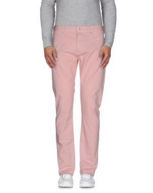 Повседневные брюки LOVE MOSCHINO. Цвет: розовый