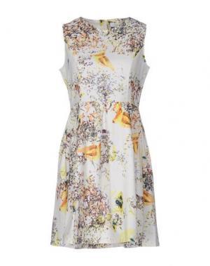 Короткое платье ANONYME DESIGNERS. Цвет: белый