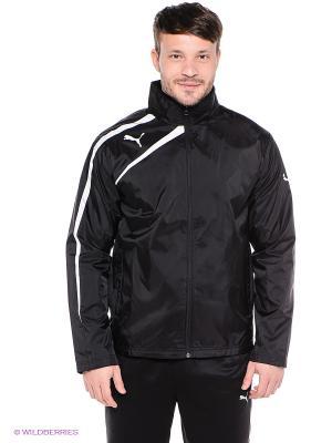 Куртка Spirit Rain Jacket Puma. Цвет: черный, белый