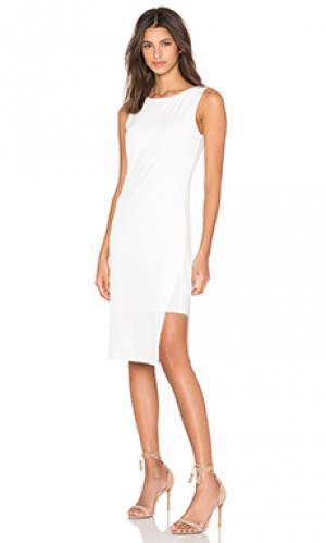 Платье claudine Velvet by Graham & Spencer. Цвет: кремовый