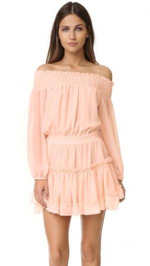 Платье Darla MISA. Цвет: розовый