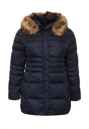 Куртка утепленная Betty Barclay. Цвет: синий