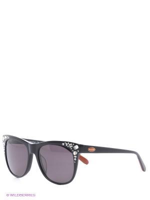Солнцезащитные очки MI 808S 01 Missoni. Цвет: черный