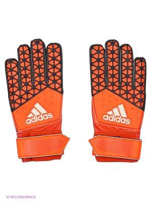 Перчатки Ace Training Adidas. Цвет: оранжевый, черный