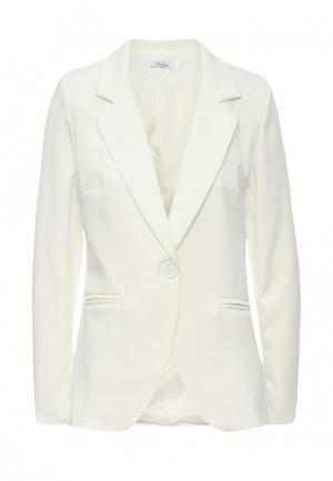 Пиджак Aurora Firenze. Цвет: белый