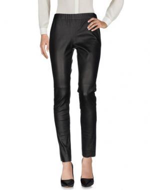 Повседневные брюки FLEUR B.. Цвет: черный