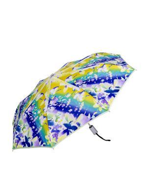Зонт Stilla s.r.l.. Цвет: голубой, желтый, зеленый