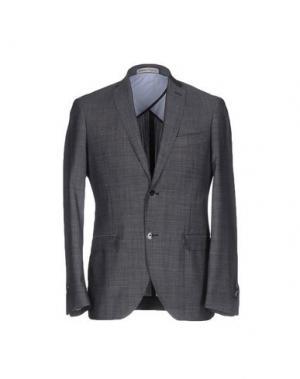 Пиджак DOMENICO TAGLIENTE. Цвет: свинцово-серый