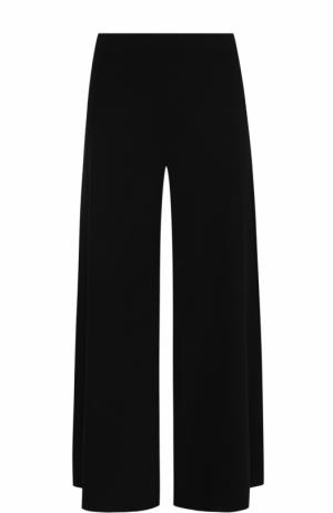 Укороченные широкие брюки Theory. Цвет: черный