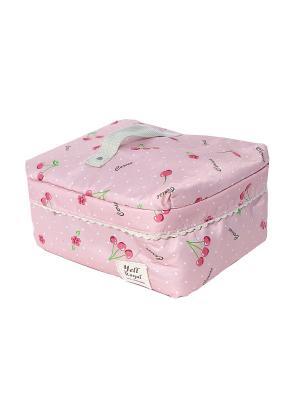 Косметичка Casual Chic. Цвет: розовый