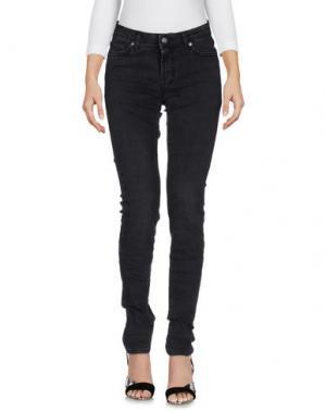 Джинсовые брюки ROŸ ROGER'S. Цвет: стальной серый