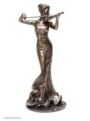 Статуэтка Скрипачка Veronese. Цвет: бронзовый