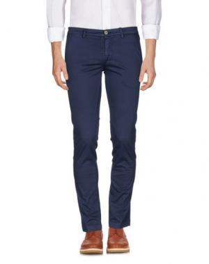 Повседневные брюки MANUEL RITZ. Цвет: темно-синий