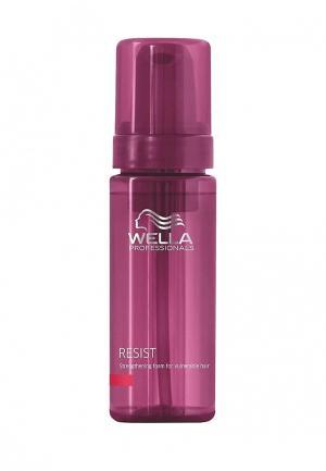 Укрепляющая эмульсия для зрелых волос Wella. Цвет: фиолетовый