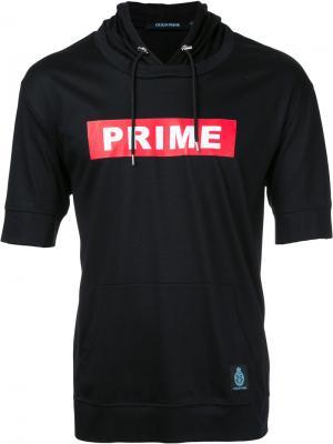 Топ с капюшоном Guild Prime. Цвет: чёрный