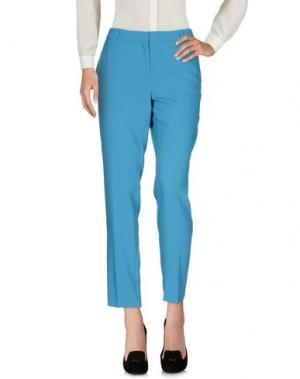 Повседневные брюки MARELLA. Цвет: пастельно-синий