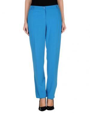 Повседневные брюки MRESALE. Цвет: лазурный