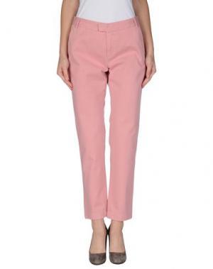 Повседневные брюки BAND OF OUTSIDERS. Цвет: розовый