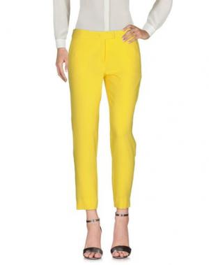 Повседневные брюки SHIRTAPORTER. Цвет: желтый