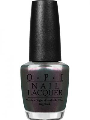 Opi Лак для ногтей Peace & Love OPI, 15 мл. Цвет: антрацитовый