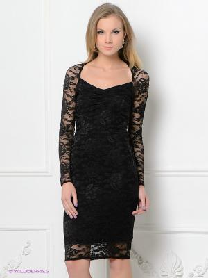Платье Hammond. Цвет: черный