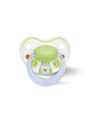 Пустышка Premium Dental силикон 0-6 мес. Happiness PlayWithUs  в ассортименте Bibi.. Цвет: голубой, розовый, синий