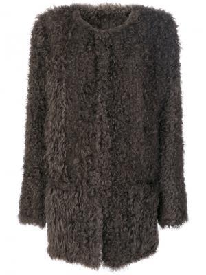 Long jacket Salvatore Santoro. Цвет: коричневый