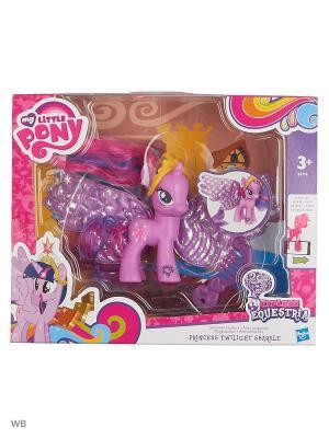 Пони Делюкс с волшебными крыльями Hasbro. Цвет: розовый, желтый, фиолетовый