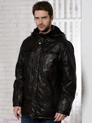 Куртка Berloga. Цвет: темно-коричневый