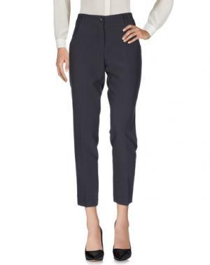 Повседневные брюки EDAS. Цвет: свинцово-серый