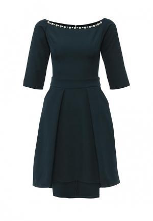 Платье Piena. Цвет: зеленый