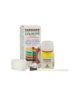 Краситель COLOR DYE, стекло TDC01, 25мл. Tarrago. Цвет: желтый