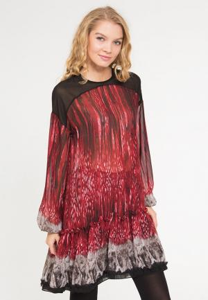 Платье Yaroslavna. Цвет: красный