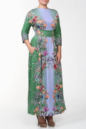 Платье Стелла NATALIA PICARIELLO. Цвет: голубой