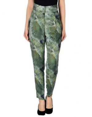 Повседневные брюки LES PRAIRIES DE PARIS. Цвет: зеленый
