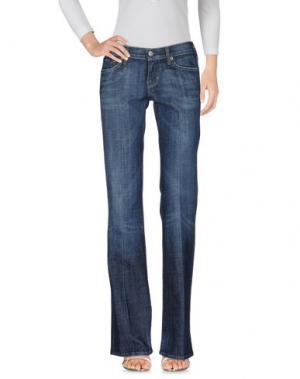 Джинсовые брюки AL DUCA D'AOSTA. Цвет: синий